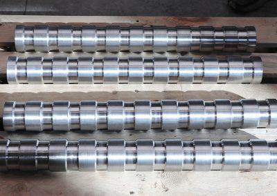 Tamburi movimentazione colli Rulli Solidali con Gole diam 76x620mm