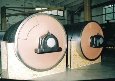 Tamburi per movimentazione sfusi diam 1200 mm
