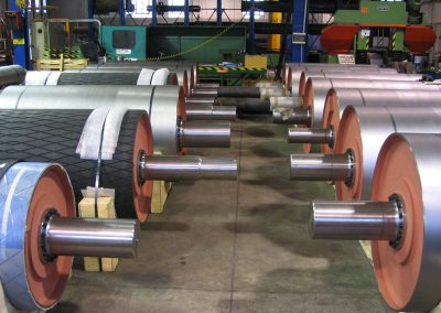 Tamburi per movimentazione sfusi serie tamburi diam 500 diam 800
