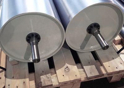 Tamburi rinvio 400 x 750 mm
