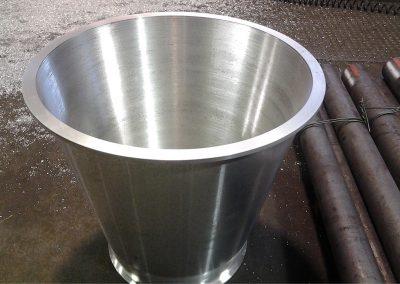 Costruzioni meccaniche Italmeccanica stampo per vaso di design in alluminio