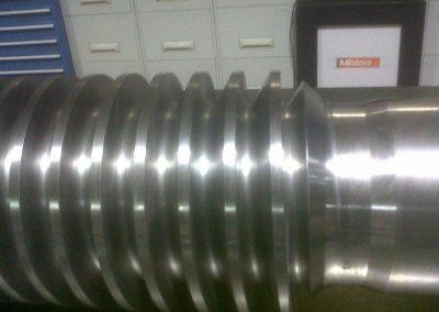 costruzioni meccaniche albero con spirale
