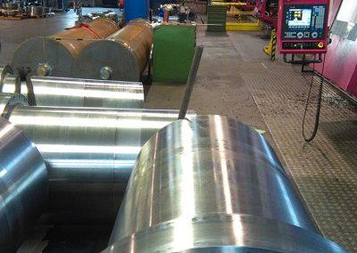 costruzioni meccaniche Camicia con Anello per Impianto Presse