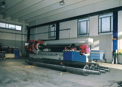 costruzioni meccaniche cilindri per laminatoi diam 950 x 3130 mm
