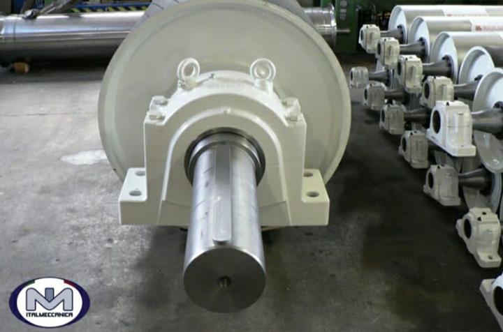 ITALMECCANICA - rulli e tamburi per nastri trasportatori